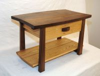 Hand Made Walnut And Ash Coffee Table by Natural Mystic
