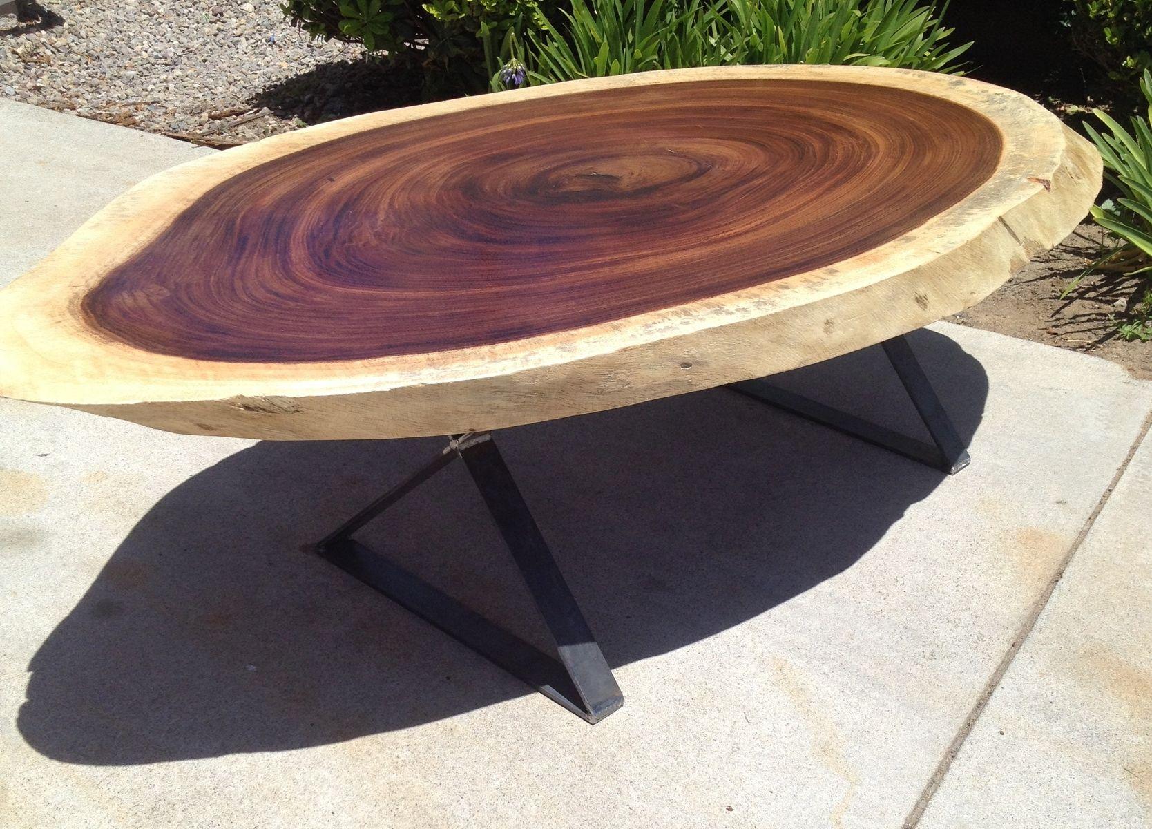 handmade custom guanacaste coffee table