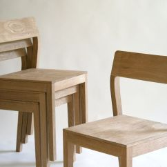 Stackable Dining Room Chairs Teen Chair Hand Made Wood By Kapel Designs Custommade Com Custom