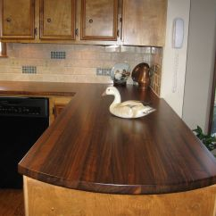 Wood Kitchen Counters Outdoor Frames Custom Walnut Countertops By Craft Art Direct