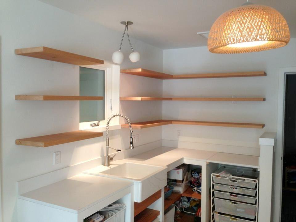 Handmade Bracketless Shelves by SpenchCraft  CustomMadecom