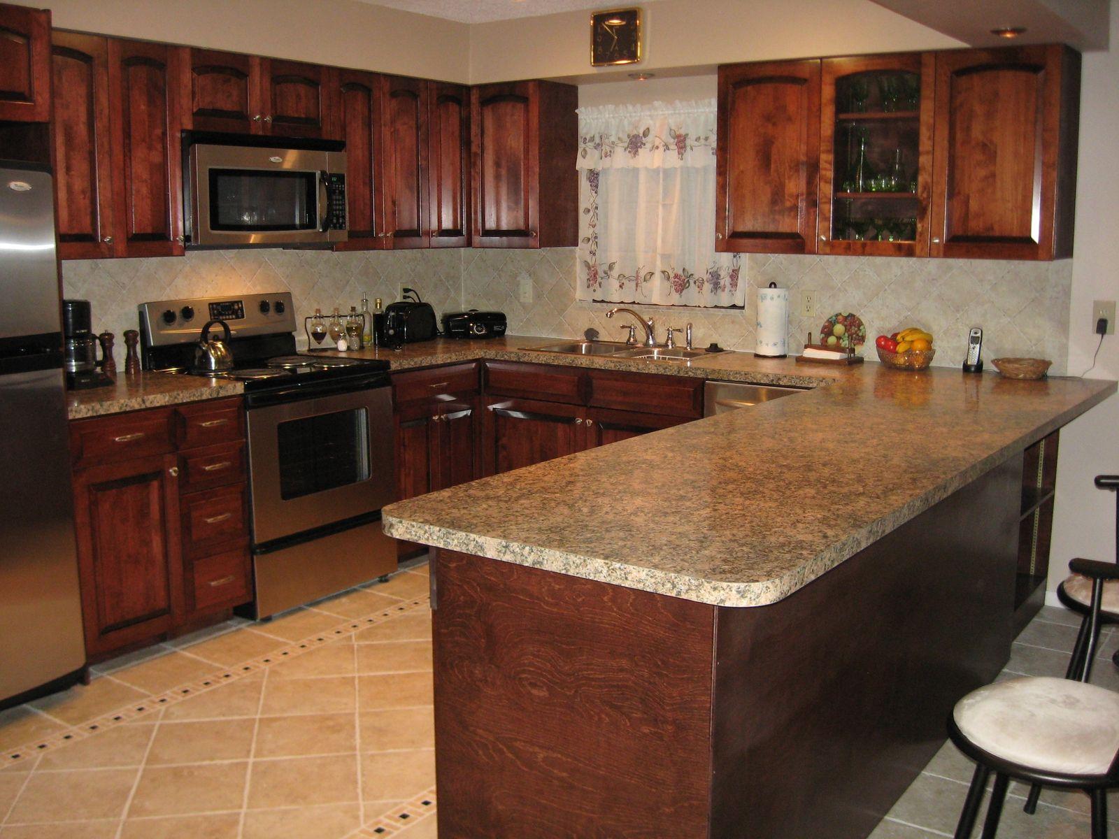Handmade Birch Kitchen by Gideons Cabinet  Trim