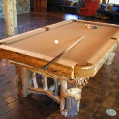 What Are Pool Chairs Made Out Of Armless Ghost Chair Hand Rustic Table By Dan Joseph Woodworks
