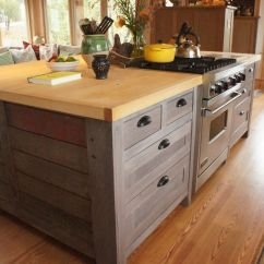 Custom Kitchen Island For Sale Restore Cabinets Hand Crafted Rustic By Atlas Stringed