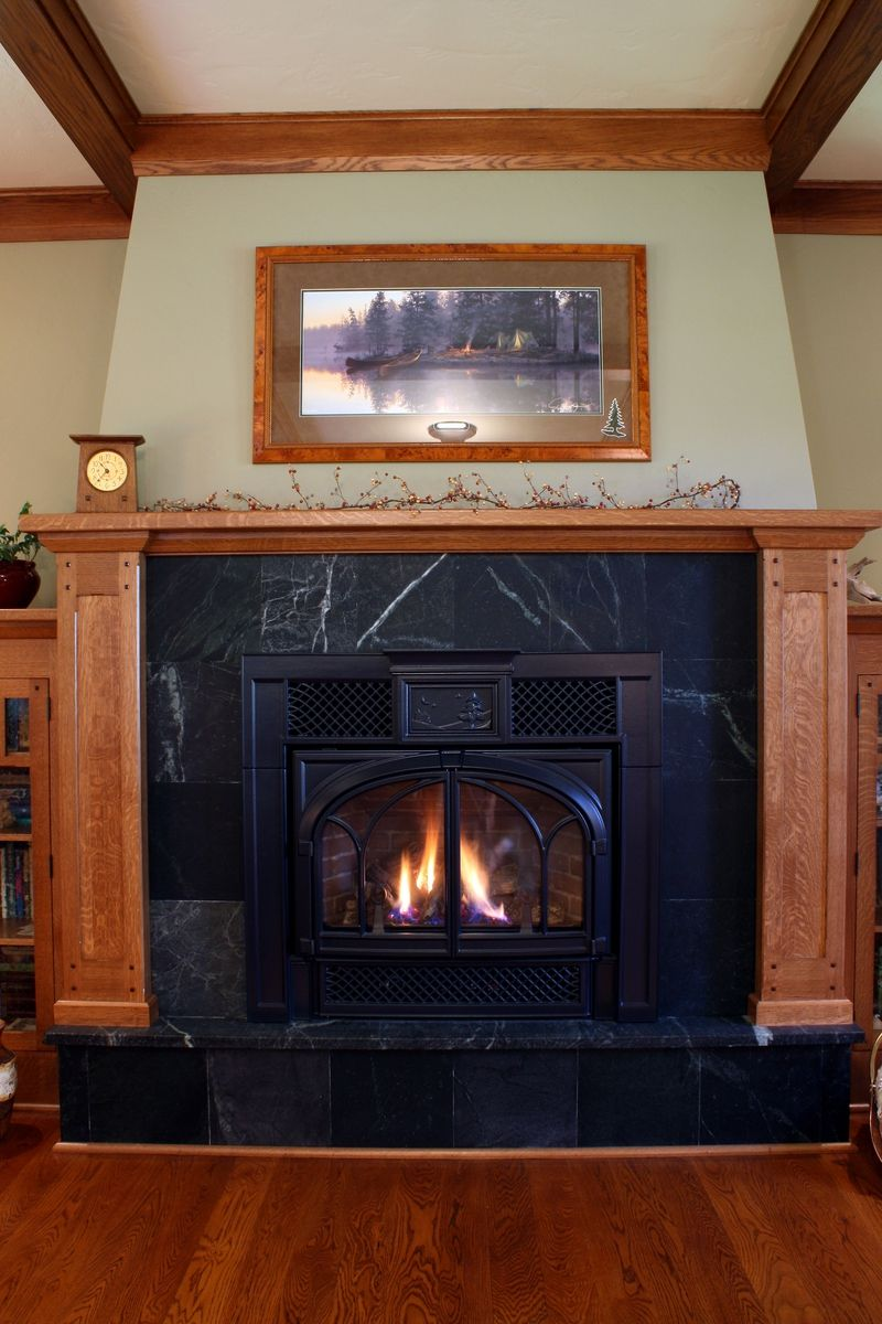 Hand Crafted Fireplace Mantels And Surrounds By Montana
