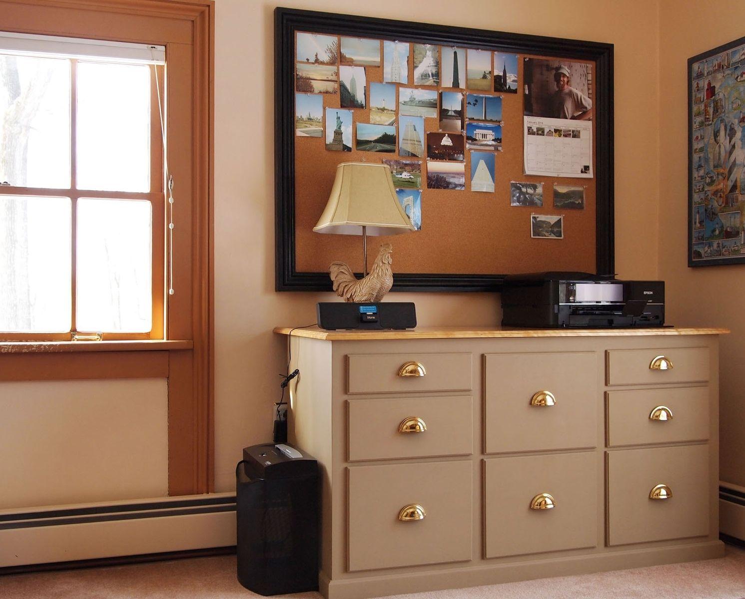 Custom Home Office Filing Cabinet By Curt Lambert Master