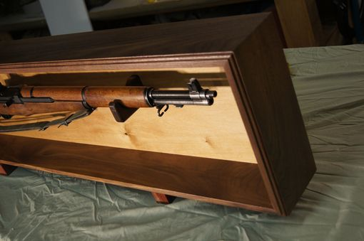 Handmade Wall Hanging Rifle Or Sword Mount by Red Dog