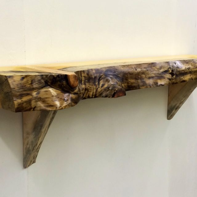 Live Edge Mantel Ideas