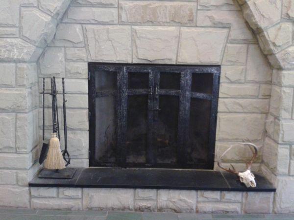 Custom Fireplace Doors Screens