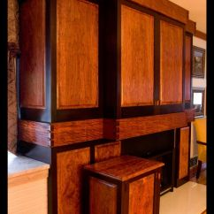 Kitchen Gifts For Mom Raymour And Flanigan Sets Handmade Built In Bubinga & Wenge Entertainment Cabinet By ...
