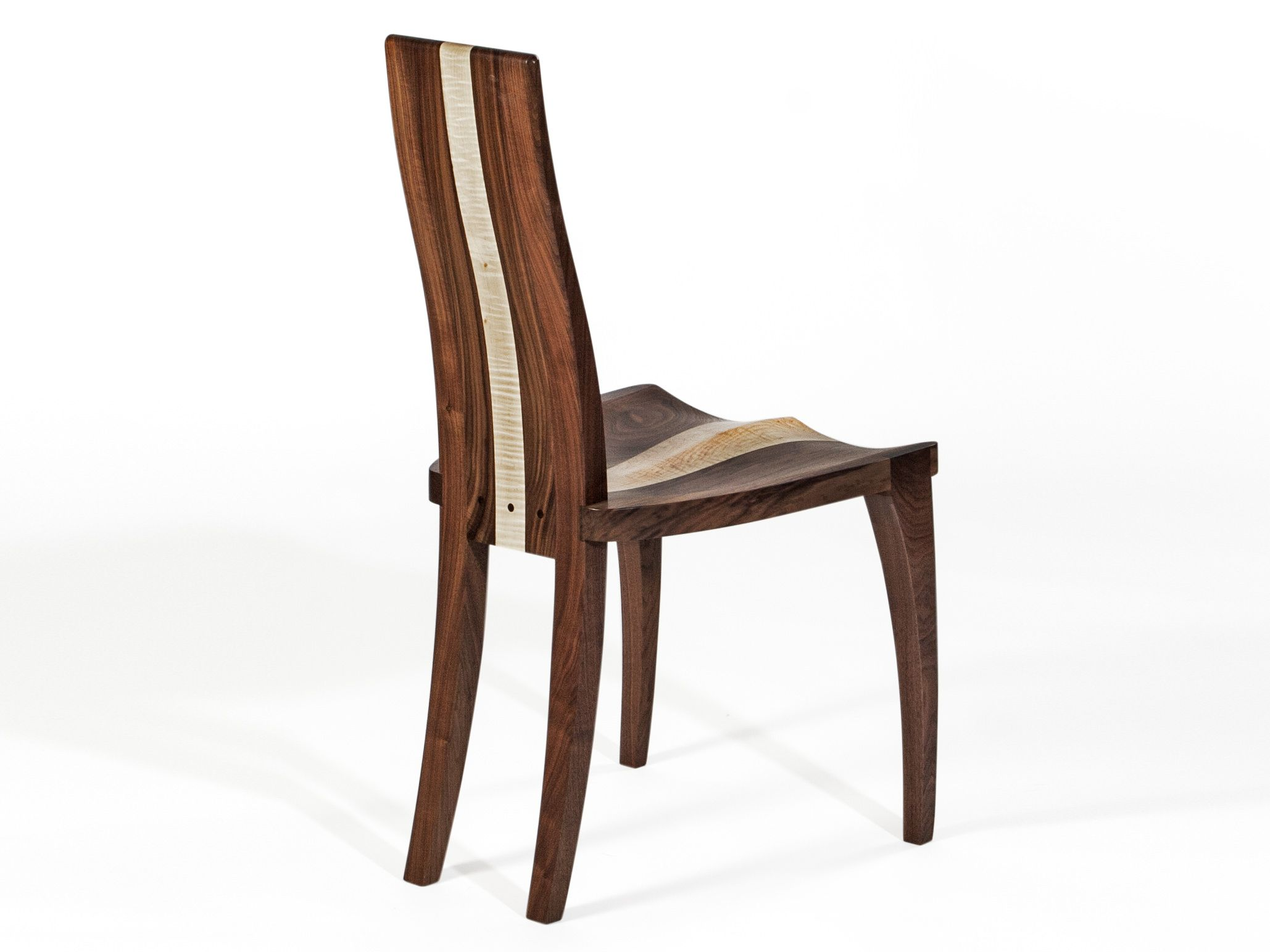 handmade wooden chairs leather zero gravity chair custom made dining modern solid wood walnut carved seat