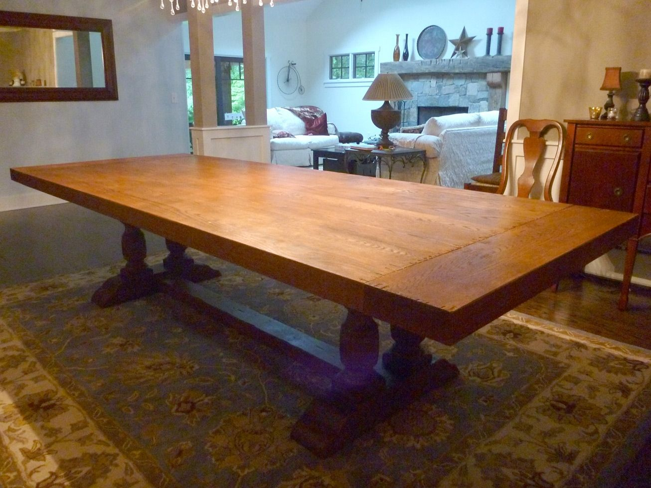 Hand Crafted Dining Room Table Top by AJC Woodworking  CustomMadecom