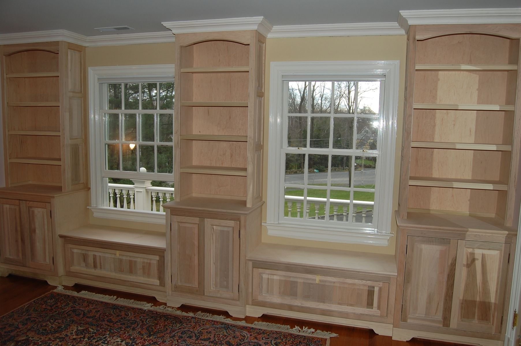 Hand Made Bedroom Built Ins By John Samuel Custom