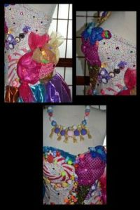 Hand Made Katy Perry California Gurls/Candyland Dress by ...