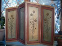 Handmade Small Folding Screen by Eureka Arts Llc