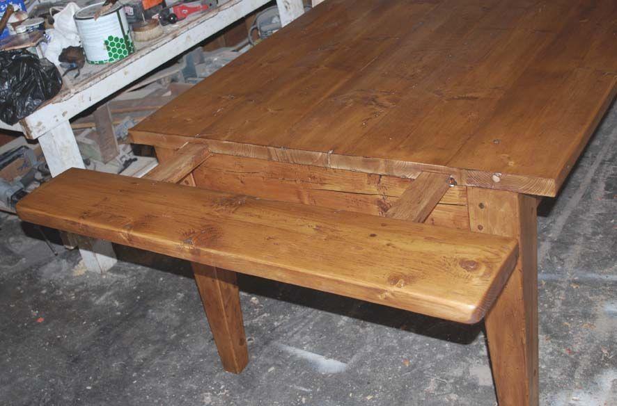 Custom Expandable Farmhouse Table By Edward Cooper
