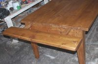 Custom Expandable Farmhouse Table by Edward Cooper ...