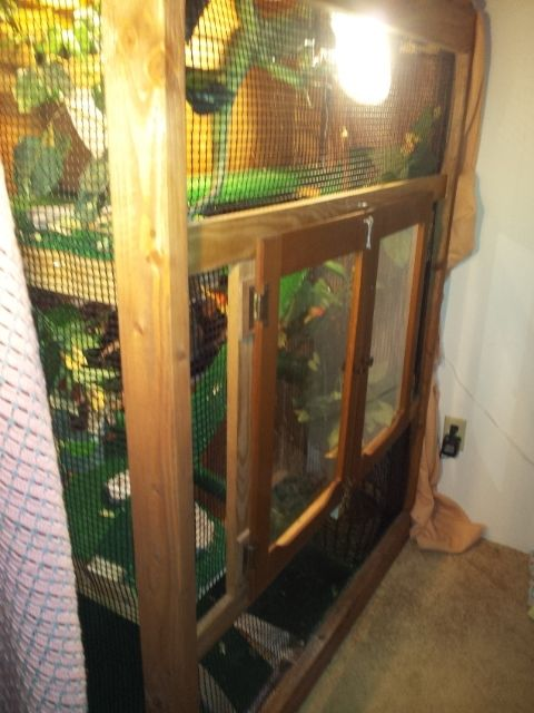 Custom MultiStory Reptile Cage by Your Design Wood