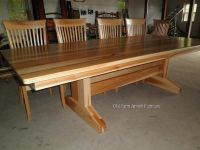 Custom Dining Room Table & Chairs by Old Farm Amish ...