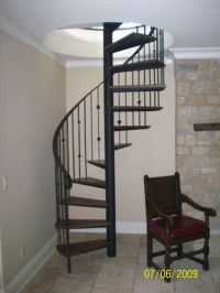 Hand Crafted Spiral Stair by The Forge At Cedar Hill ...