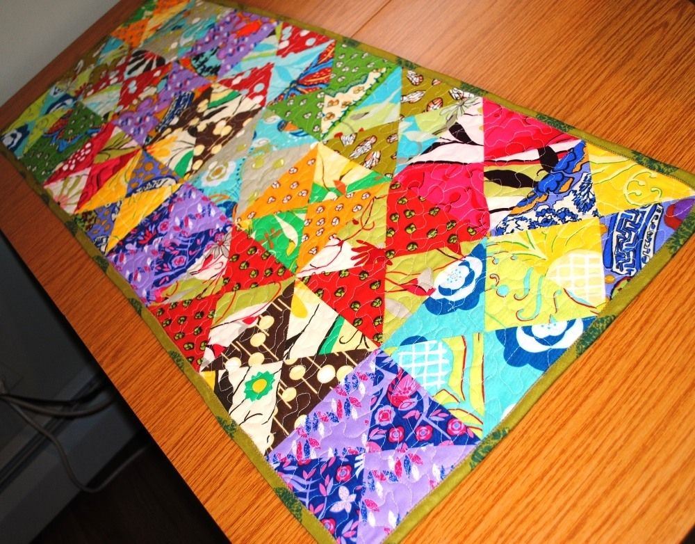 Handmade Quilted Table Runner By Originals By Lauren