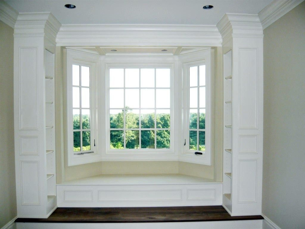 Handmade BuiltIn Window Seat by Two Rivers Woodworking