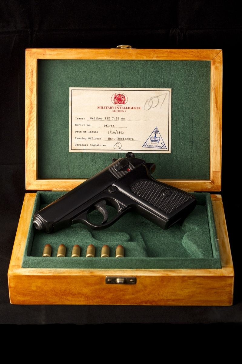 Custom Walther PPK In Display Case From Dr No 1962 by