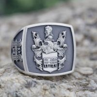 Custom Signet Rings, Family Crest Rings & Coat of Arms ...