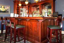 Custom Home Bar Design Ideas Cherry