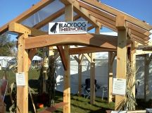 Hand Crafted Timber Frame Pavilion by Black Dog ...