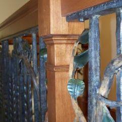 Chocolate Kitchen Cabinets Wichita Ks Hand Crafted Mountain Lake Kitchen, Fireplace & Spiral ...