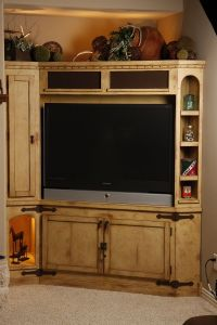 Hand Made Rustic Entertainment Center by Studio Wetz ...