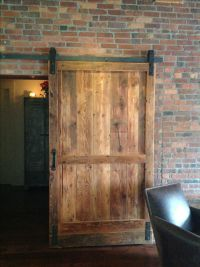 Hand Crafted Reclaimed Wood Barn Door / Room Divider by ...