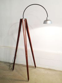 Hand Made Tripod Floor Lamp by REmix Design | CustomMade.com