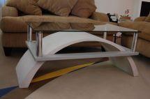 Handmade Custom Cast Concrete Coffee Table