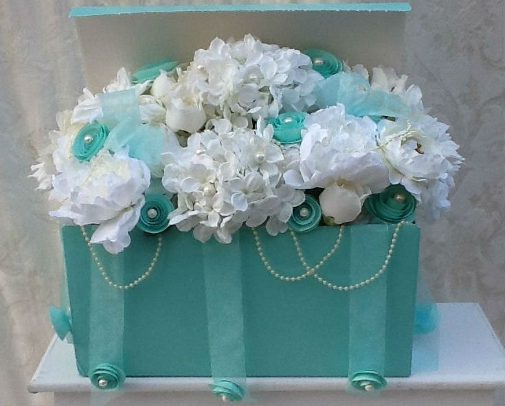 Hand Made Tiffany Style Wedding Bridal Sweet 16 Silk
