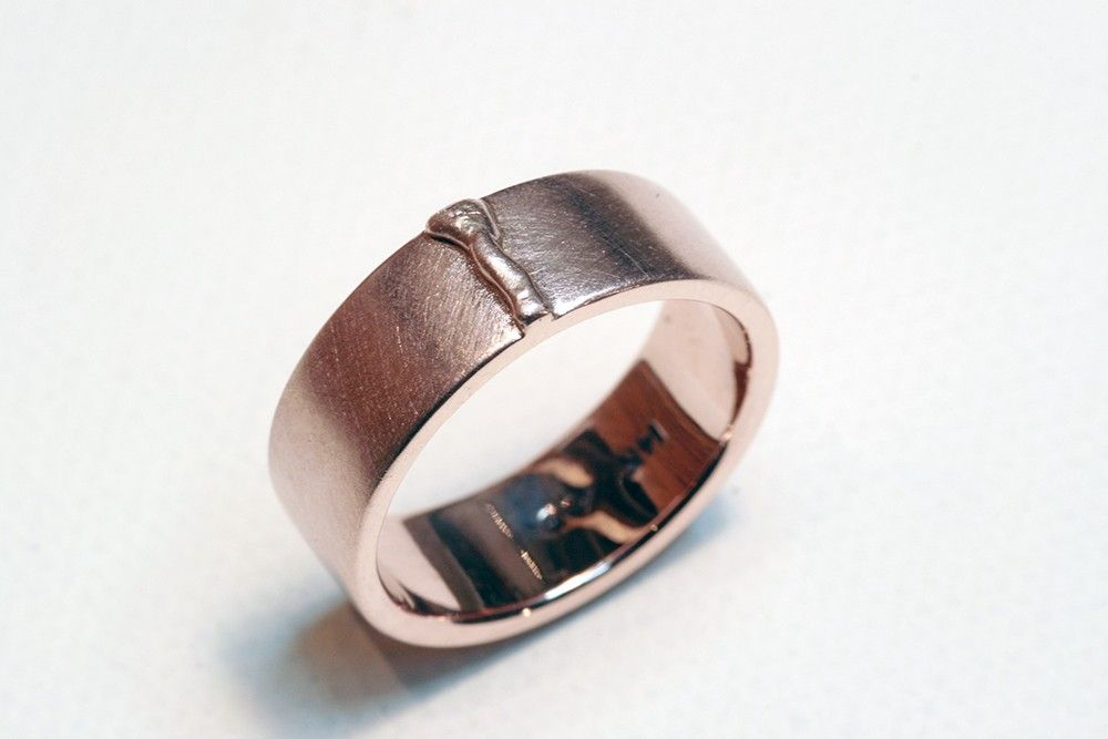 Welding Wedding Rings