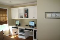 Custom Painted Home Office For Kids by Two Rivers