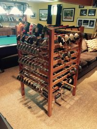 Hand Crafted Cherry Golf Club Display Rack by Lyons ...