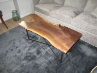 Handmade Live Edge Black Walnut Coffee Table by Iron Boar ...