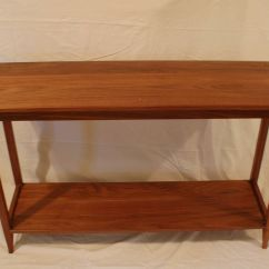 Shaker Style Sofa Plans Convertible Sectional Buy A Handmade Walnut Table With Shelf Made