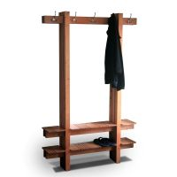 Custom Made Coat Rack by Mark Love Furniture | CustomMade.com