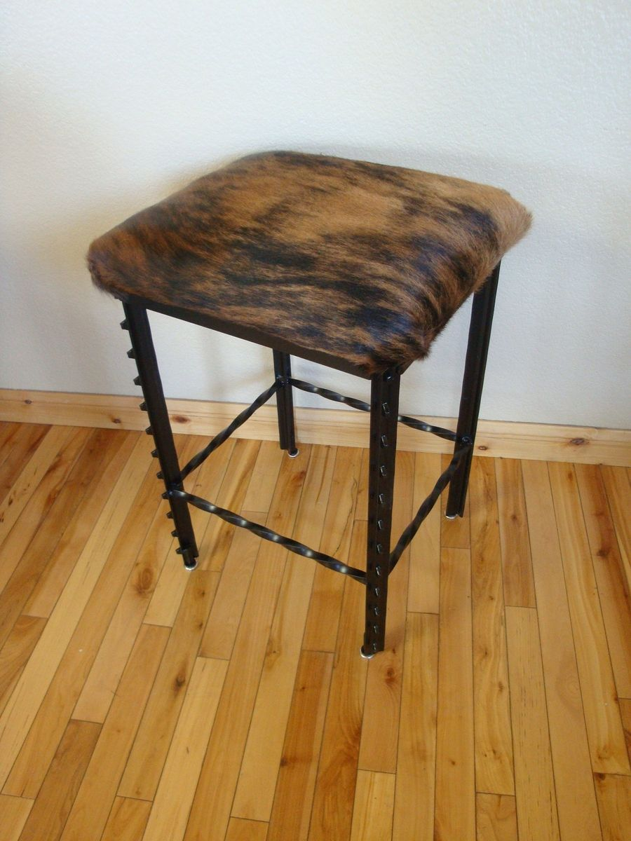 Hand Made Western Bar Stool by Willow Creek Decor