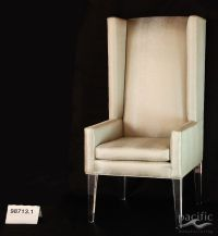 Custom Made Acrylic Leg Dining Chairs by Pacific Mfg. Co ...