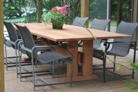 Handmade Outdoor Table by Mark Wilson Furniture ...