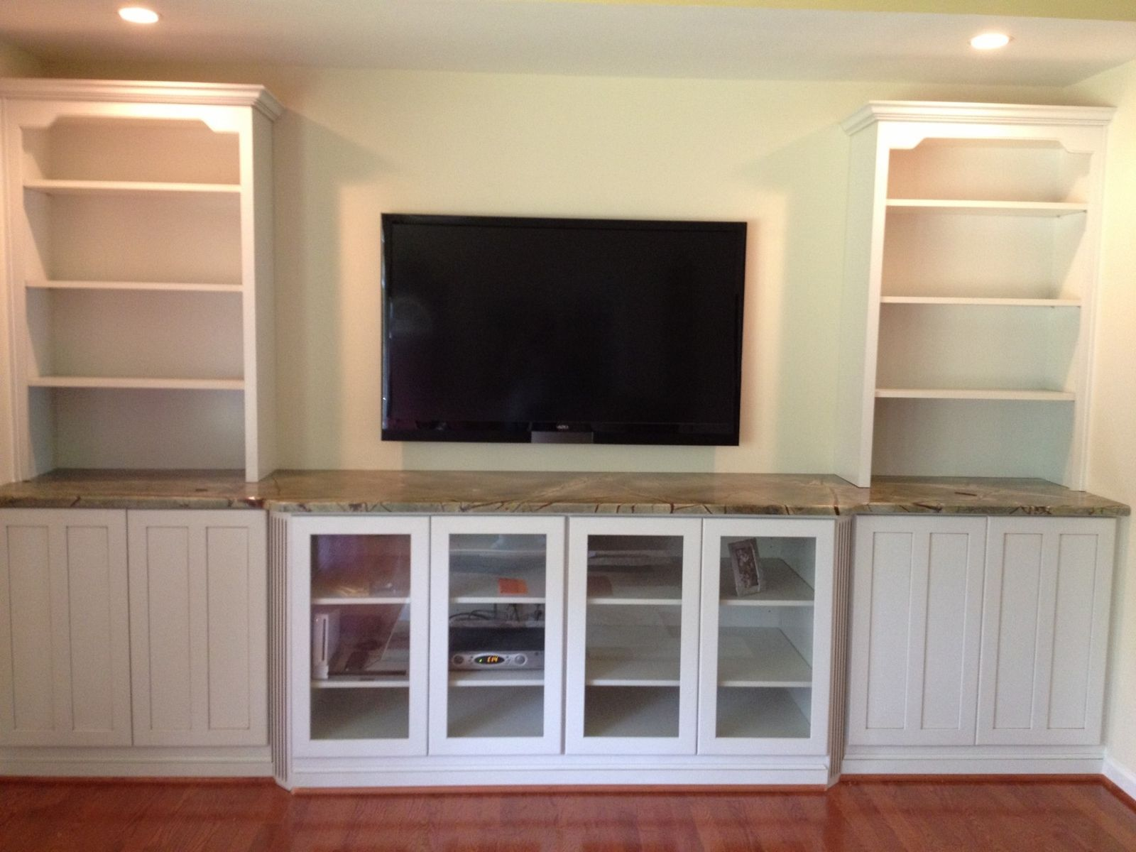 Hand Crafted Built In Tv Wall Unit by NaturalWoodworks  CustomMadecom