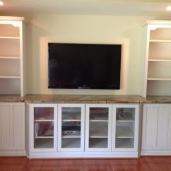 Wood Wall Units For Living Room Diy Chair Cover Hand Crafted Built In Tv Unit By Natural Woodworks Custommade Com Custom Made
