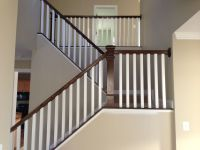 Hand Made Dark Oak Stair Raling & Balusters by PARZ ...