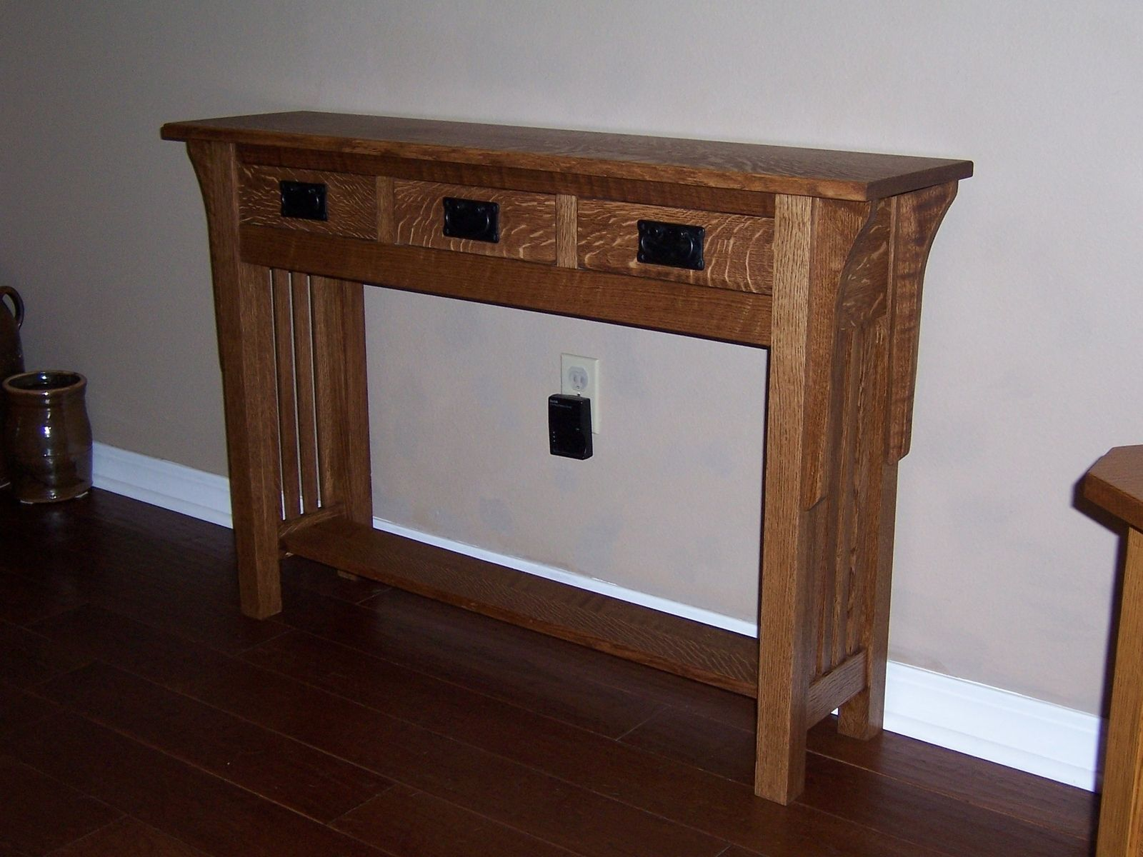 custom made sofa tables how to use click clack bed table by bungalow white oak furniture