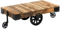 Custom Reproduction Industrial Factory Cart Coffee Table ...